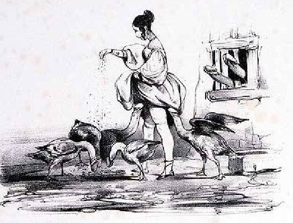 Le Poittevin, Eugene Charges et Decharges diaboliques. Par un concitoyen, Paris, Guerrier, 1830 extrait planche 8
