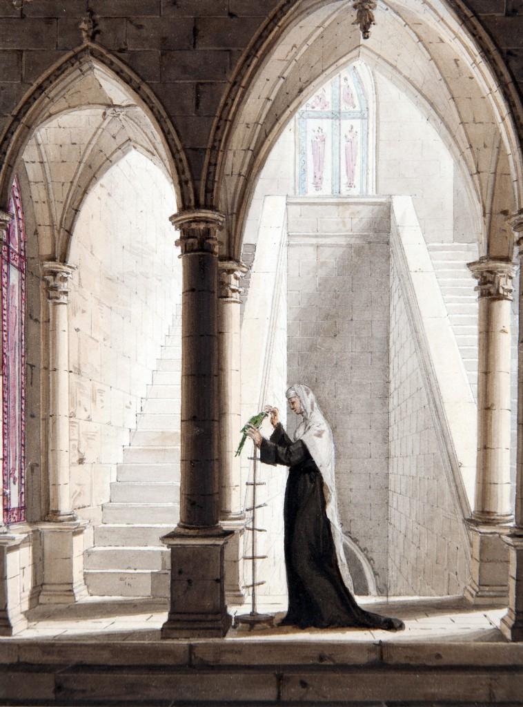 Mallet 1810-20-attrib-Vert-vert coll priv