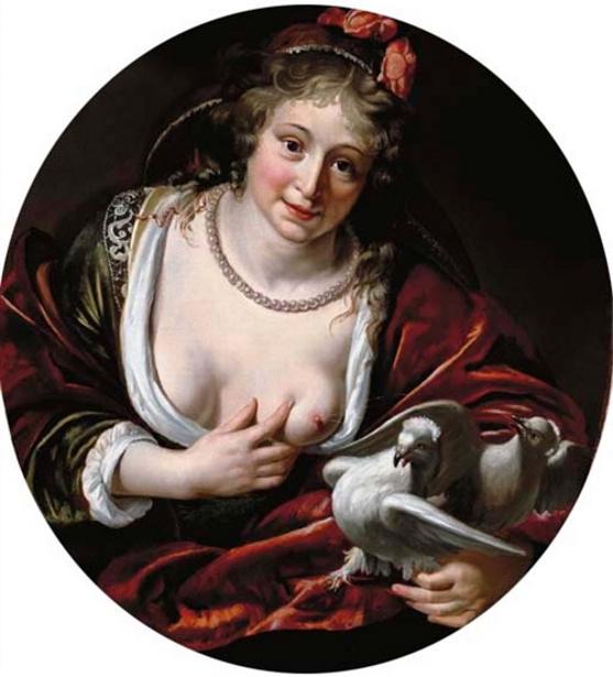 paulus-moreelse-venus-nourrissant-ses-colombes