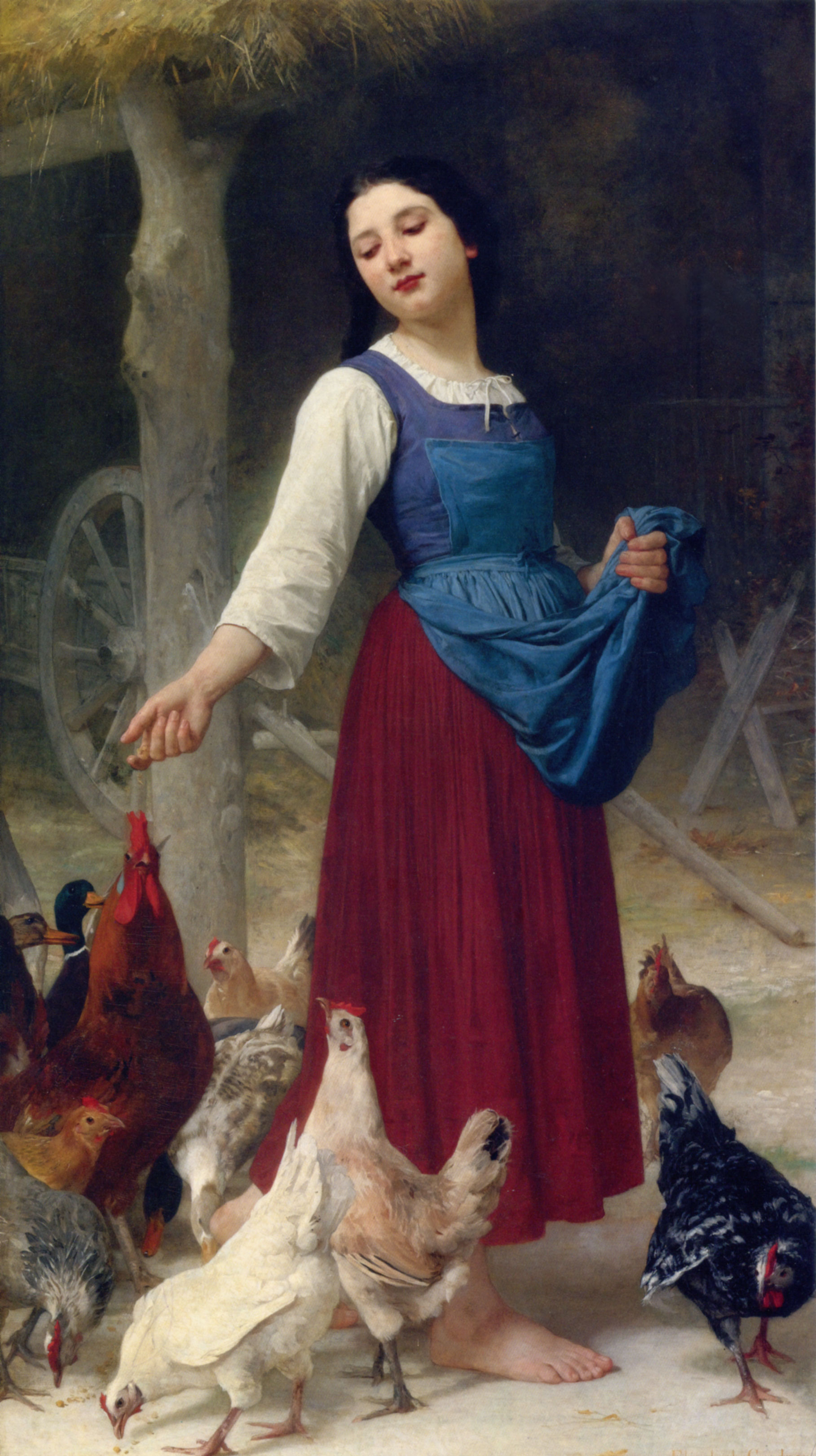 The-Farmers-Daughter-by-Elizabeth-Jane-Gardner-Bouguereau