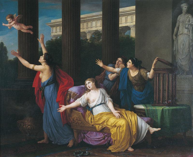 Vien 1789 L Amour fuyant l esclavage