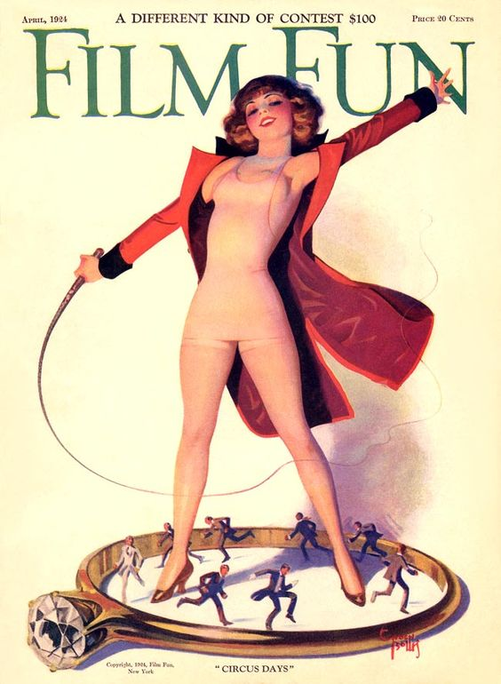 Enoch Bolles Couverture de Film Fun avril 1924