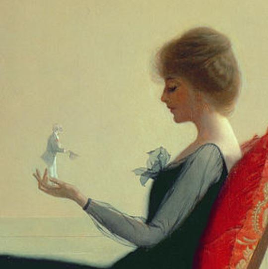 harry wilson watrous_the_suitors_c1910 detail