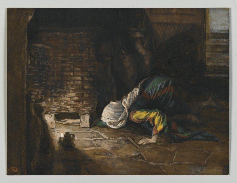 Brooklyn_Museum_-_The_Lost_Drachma_(La_drachme_perdue)_-_James_Tissot_-_overall 1886-1894