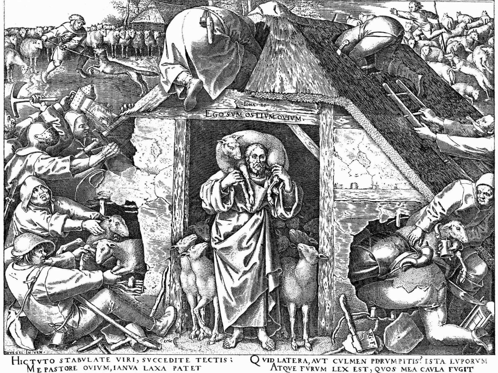 Brueghel l'ancien Bon-Pasteur-