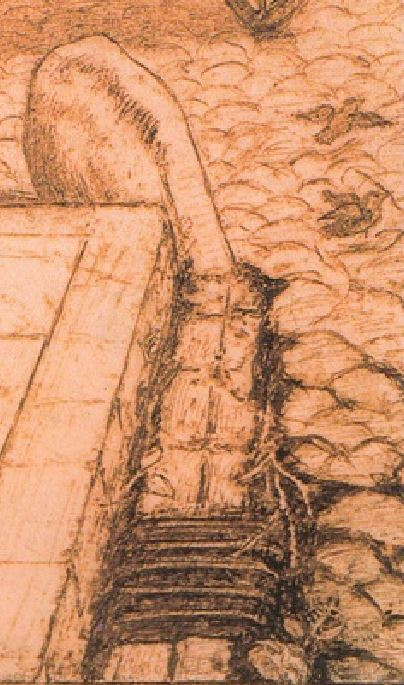 Dante_Gabriel_Rossetti_Study_for_Found_1853 detail