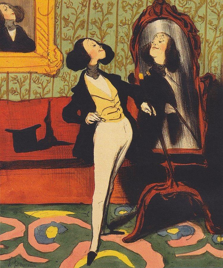 Honoré_Daumier_Dandy