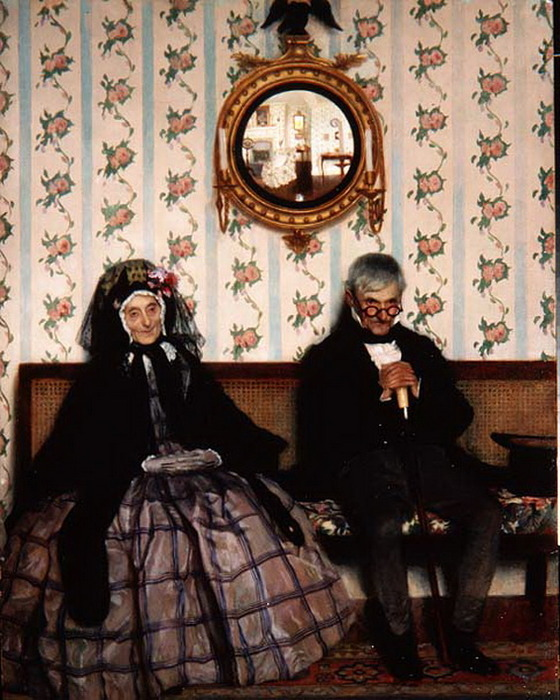 LEONARD_CAMPBELL_TAYLOR_an elderly couple