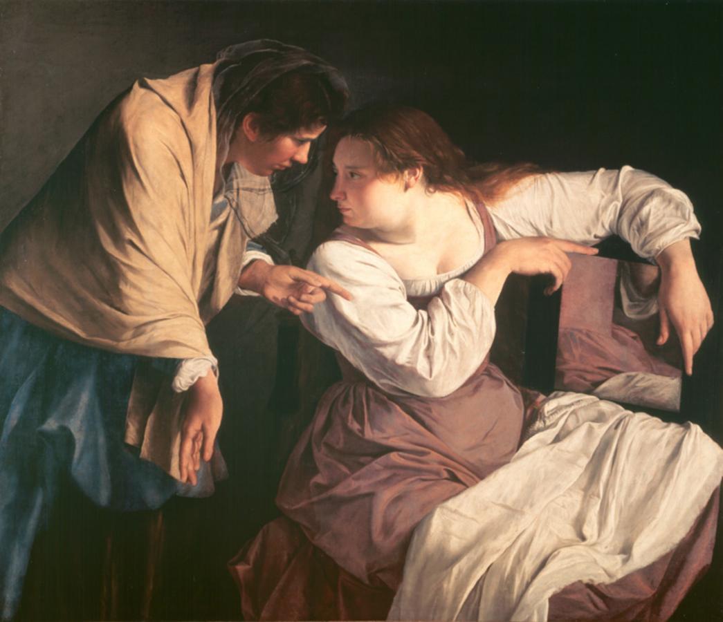 Orazio_Gentileschi_--Martha_tadelt_ihre_Schwester_Maria vers 1620