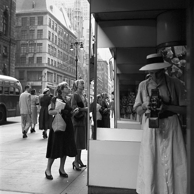 Vivian Maier  Self Portrait