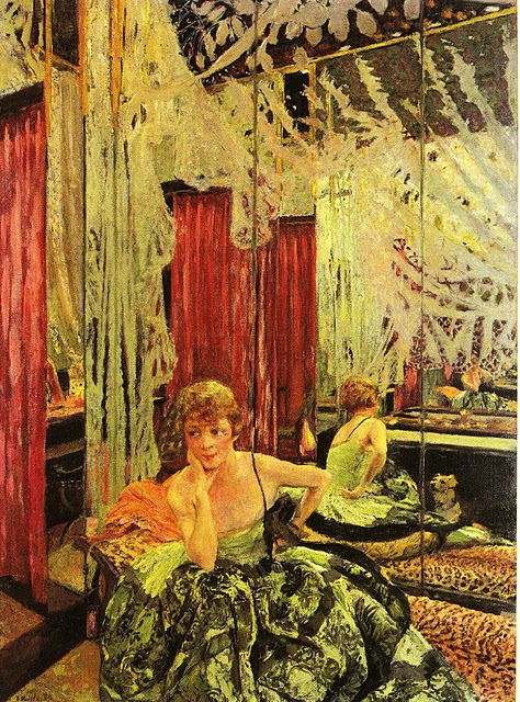 Vuillard 1927 L'actrice Jane Redouart
