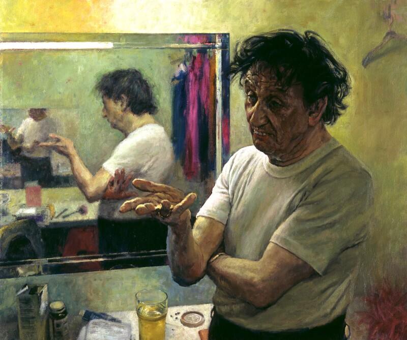 david-cobley-ken-dodd 2004 National Portrait Gallery