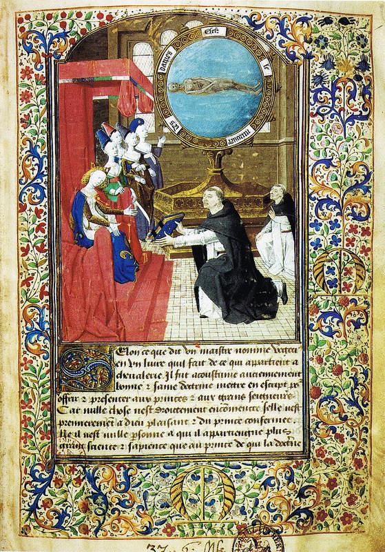 1450 Miroir des dames Wolfenbuttel Herzog August Bibliothek