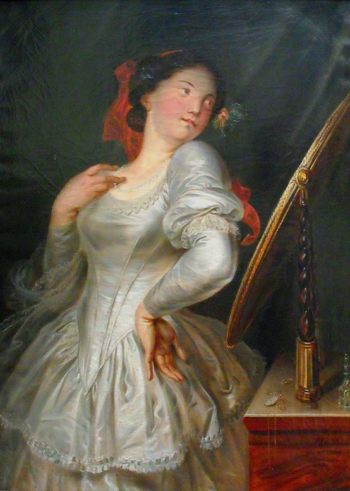 Antoine_Wiertz_Coquette_Dress 1856