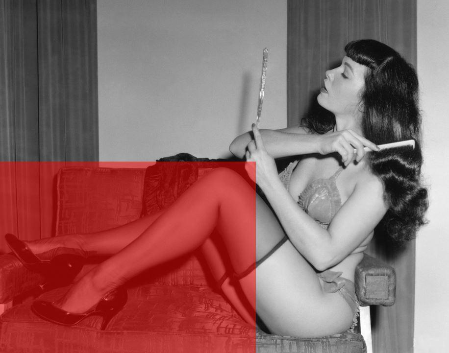 Betty Page sirene