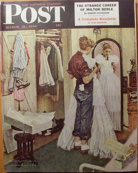 Norman Rockwell The-Prom-Dress