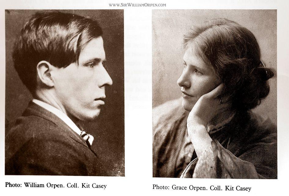Orpen William et Grace