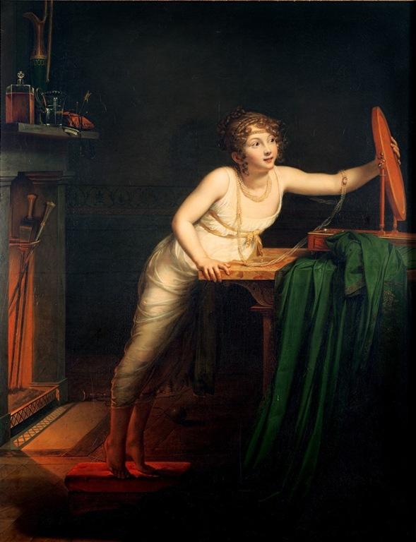 Premier sentiment de coquetterie, 1804 Pauline-auzou