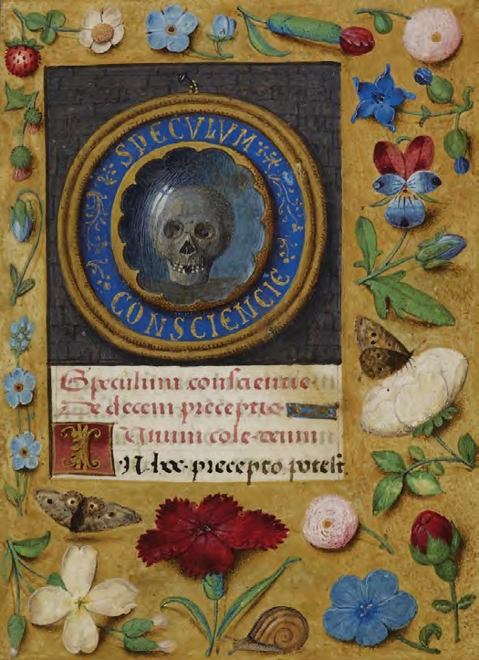 Speculum consciencie, Master of the David Scenes (Bruges or Ghent), Book of Hours of Joanna of Castile, 1496–1506
