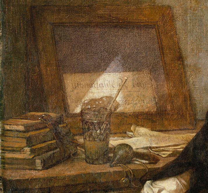 Thomas Couture 1859 Les bulles de savon MET miroir