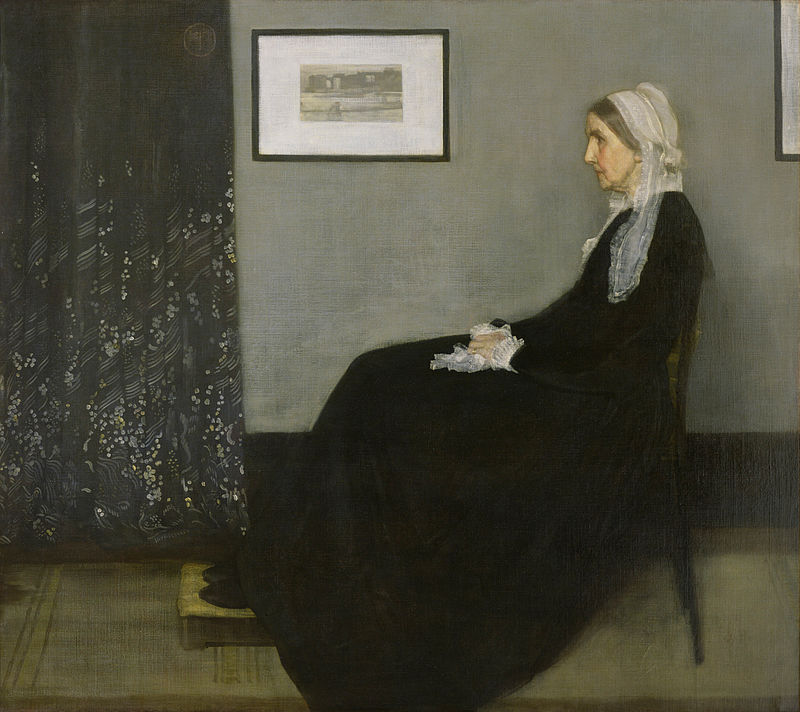Whistlers_Mother_1872 Orsay
