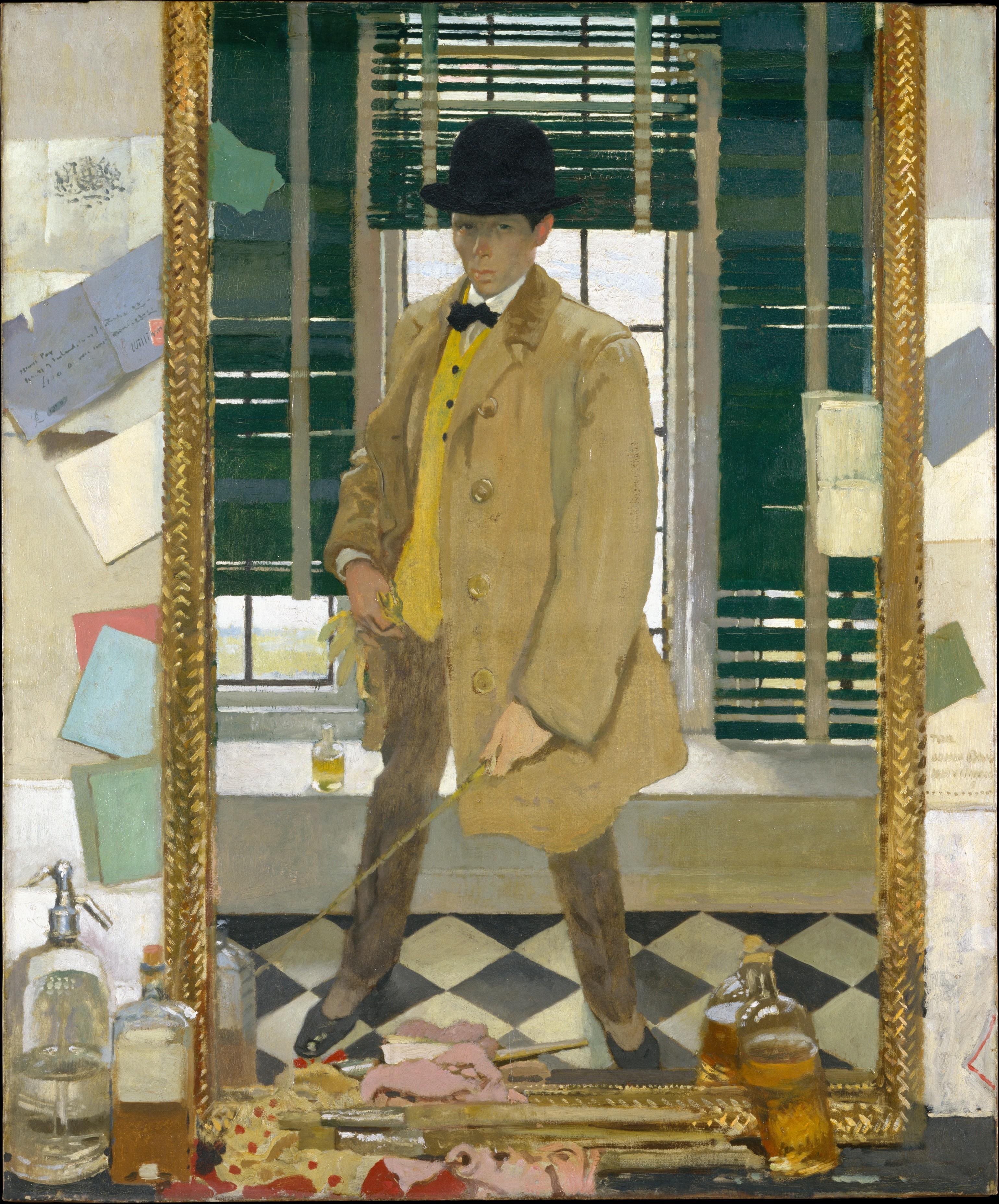 William Orpen 1910 Self-Portrait