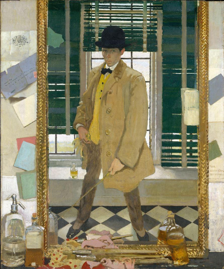 William Orpen 1910 Self-Portrait corrige