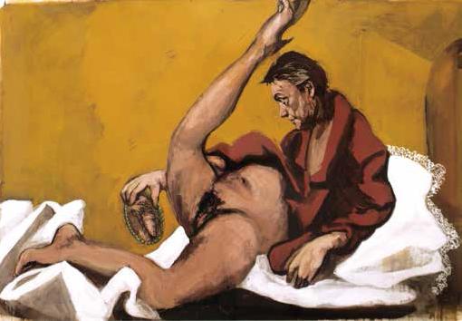 garouste-veronique autoportait 2007 Collection de l artiste