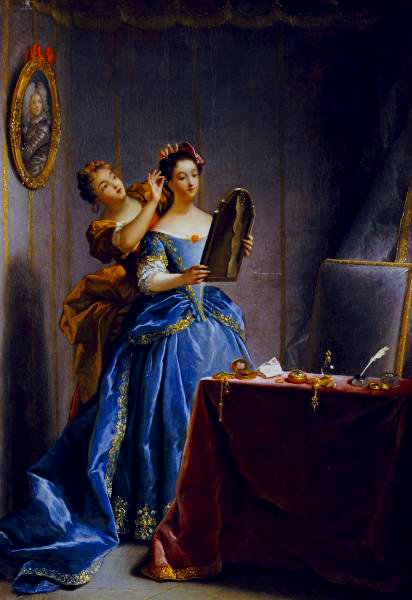 jean raoux lady at her toilet 1727