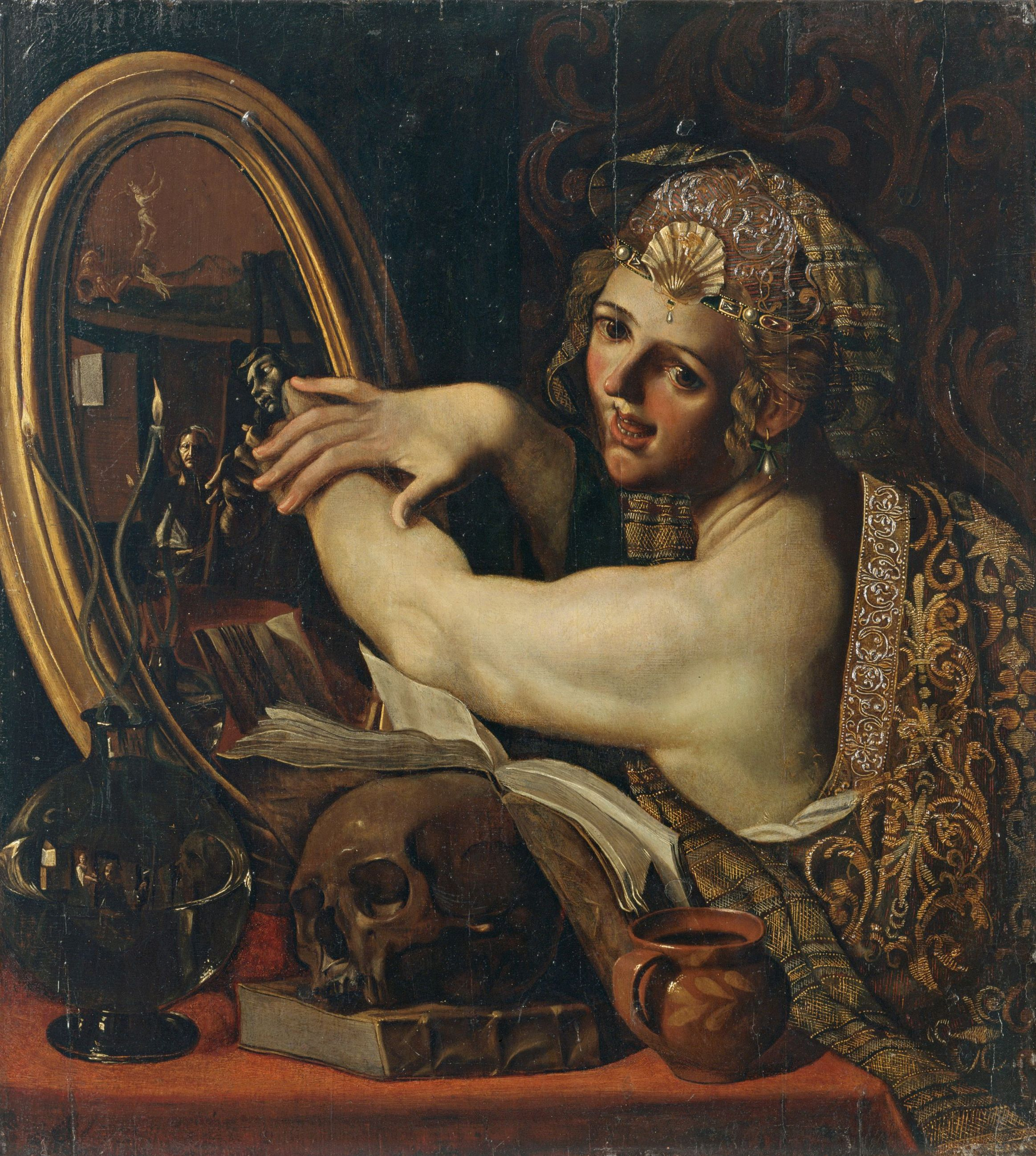 Angelo Caroselli - La-strega (c.1630)
