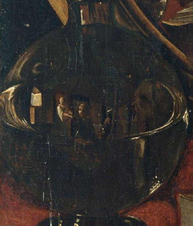 Angelo Caroselli - La-strega (c.1630) bouteille