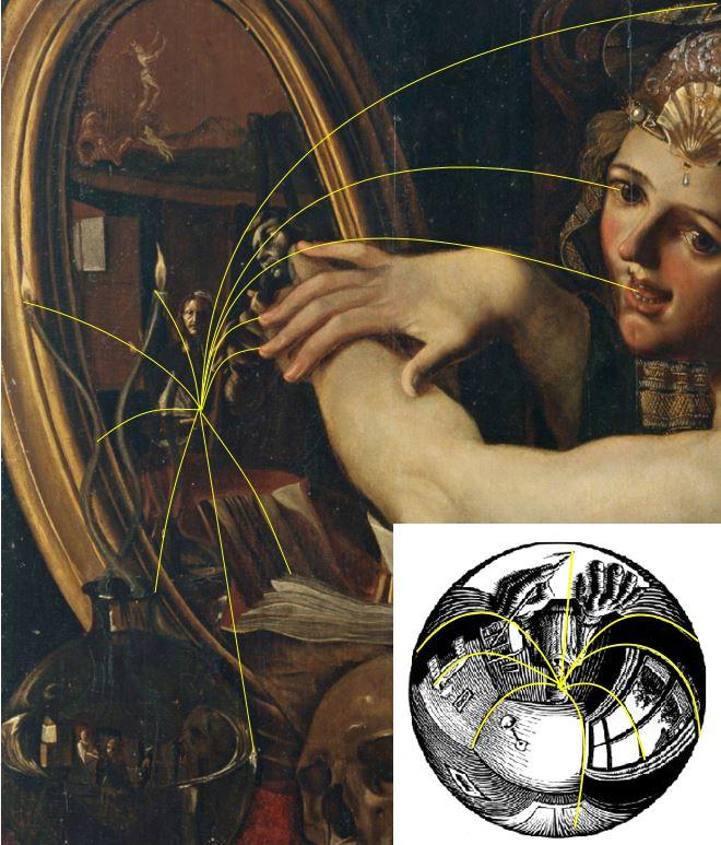 Angelo Caroselli - La-strega (c.1630) perspective