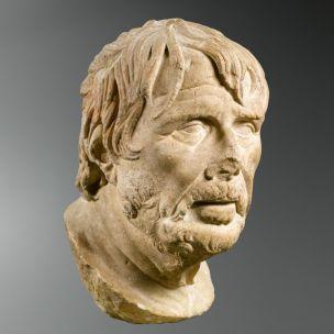 Buste du Pseudo Seneque Hesiode