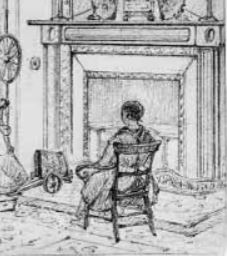 CC Hunt Drawing of an Interior British museum