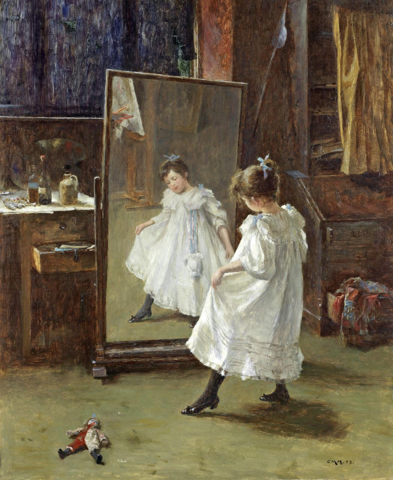 Charles Martin Hardie - The Studio Mirror 1898