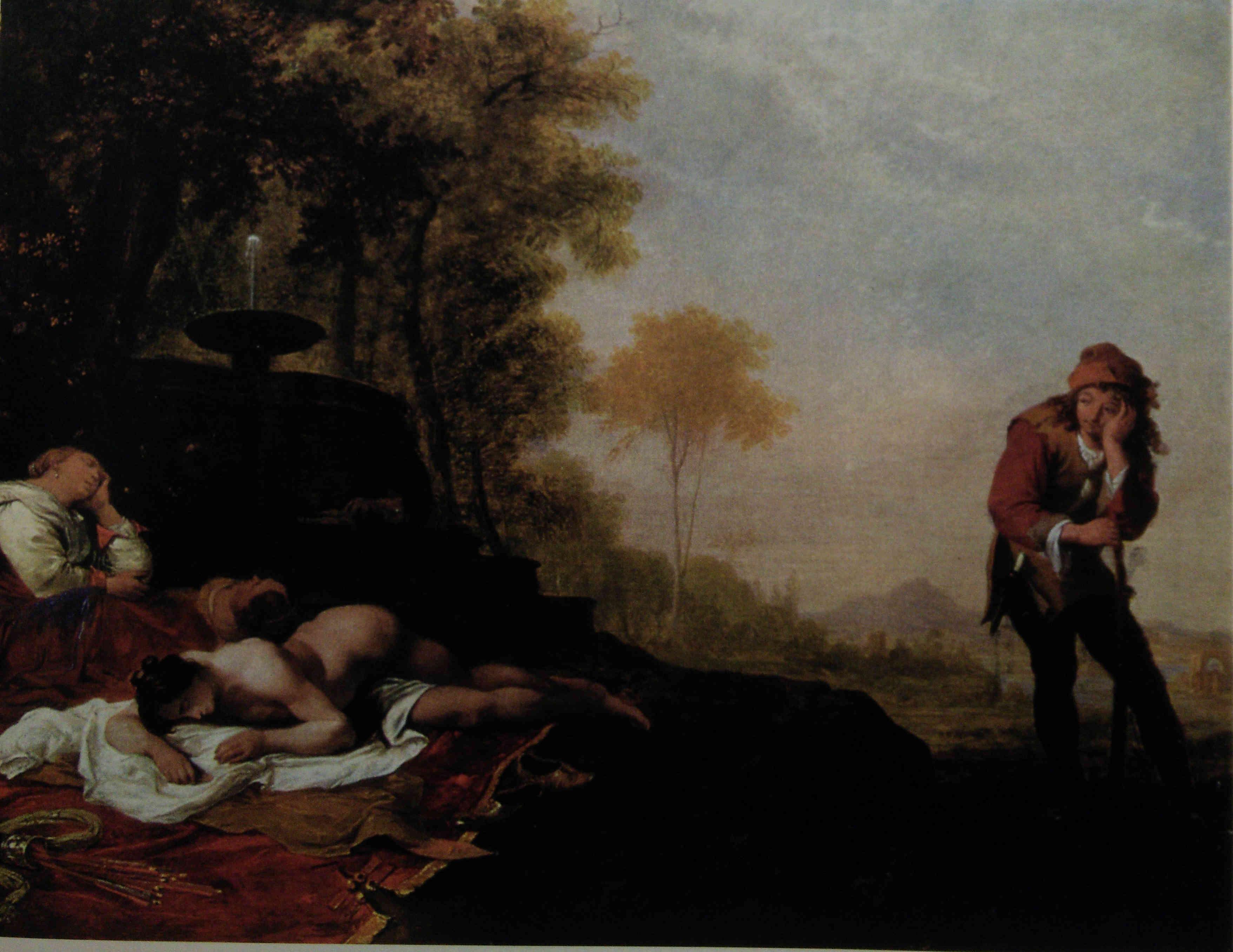Cimon et Iphigenie Bartholomeus Breenbergh coll privee