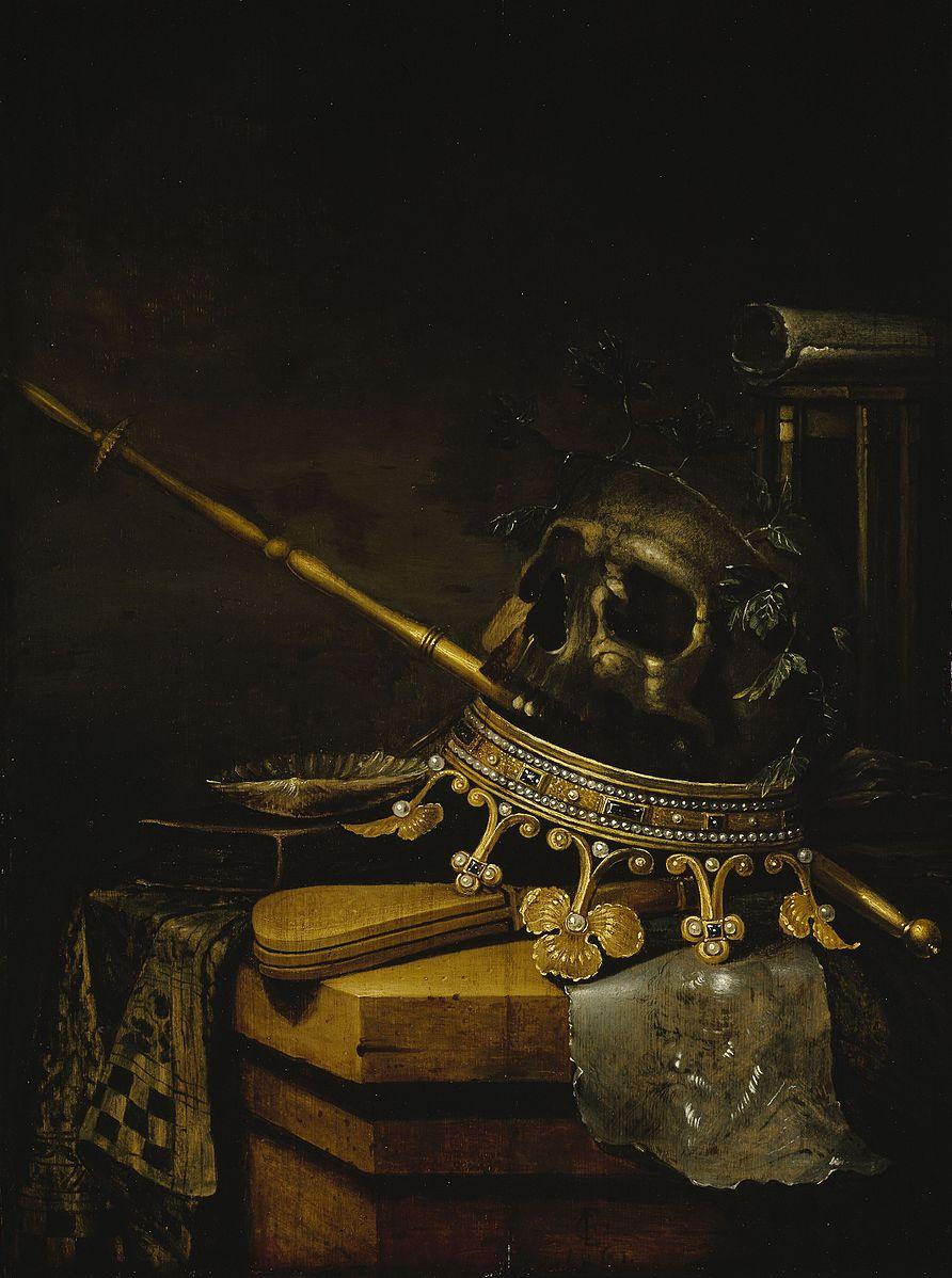 Edwaert Collier Vanite 1661 Sinebrychoff Art Museum