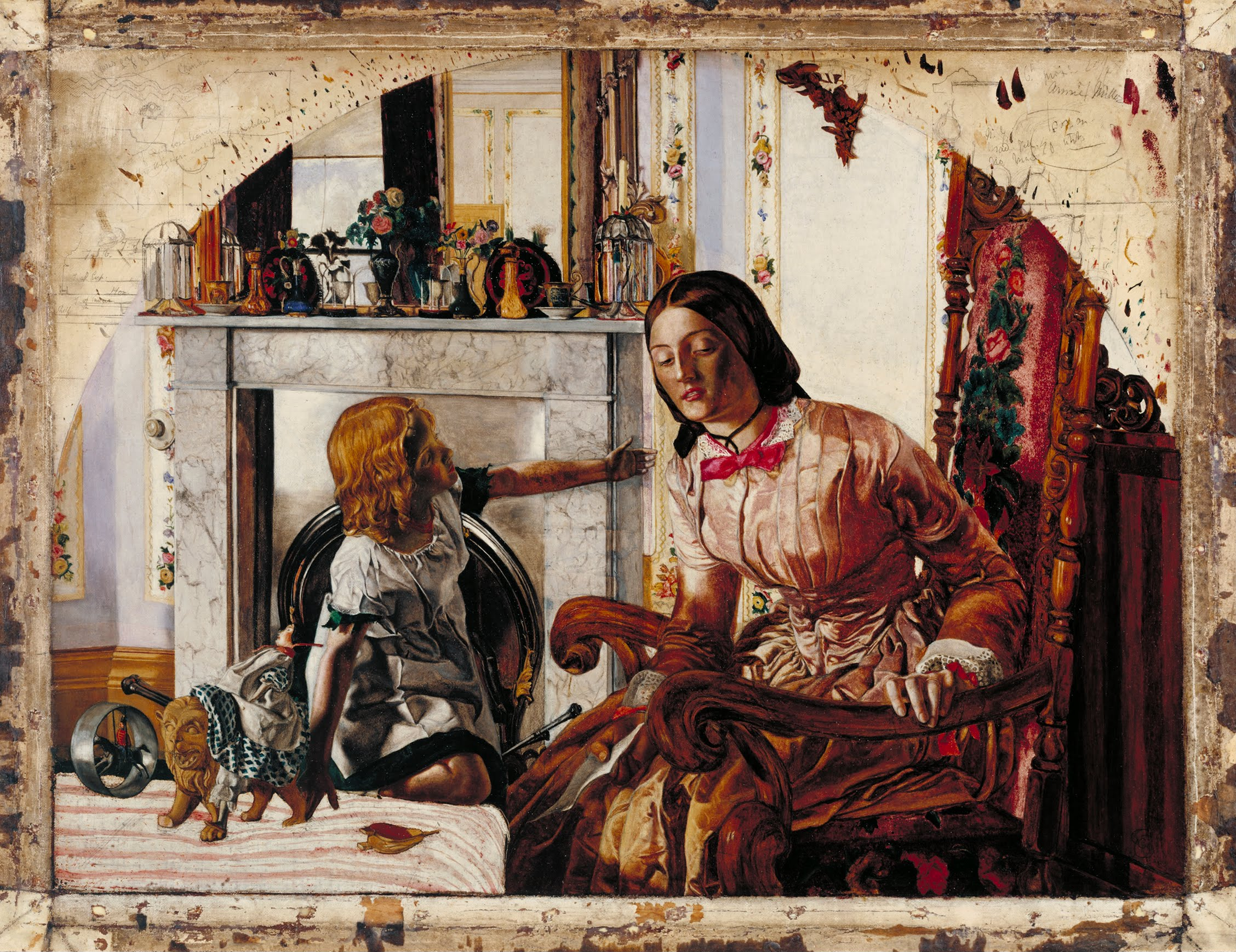 Frederic George Stephens Mother and Child c.1854