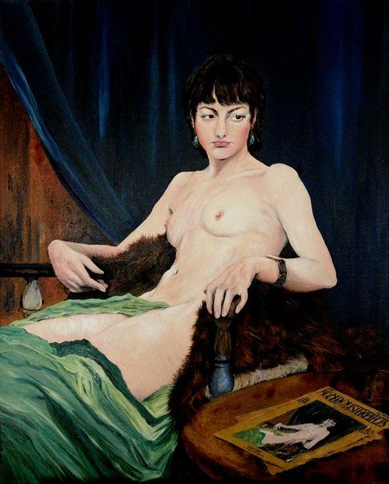 George Spencer-Watson Nu vers 1930