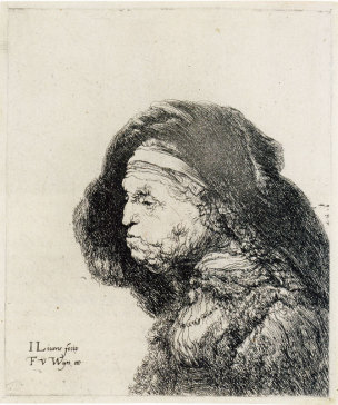 Jan Lievens Old woman