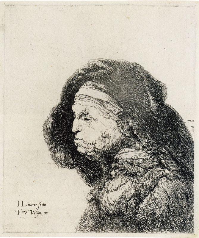 Jan Lievens Old woman