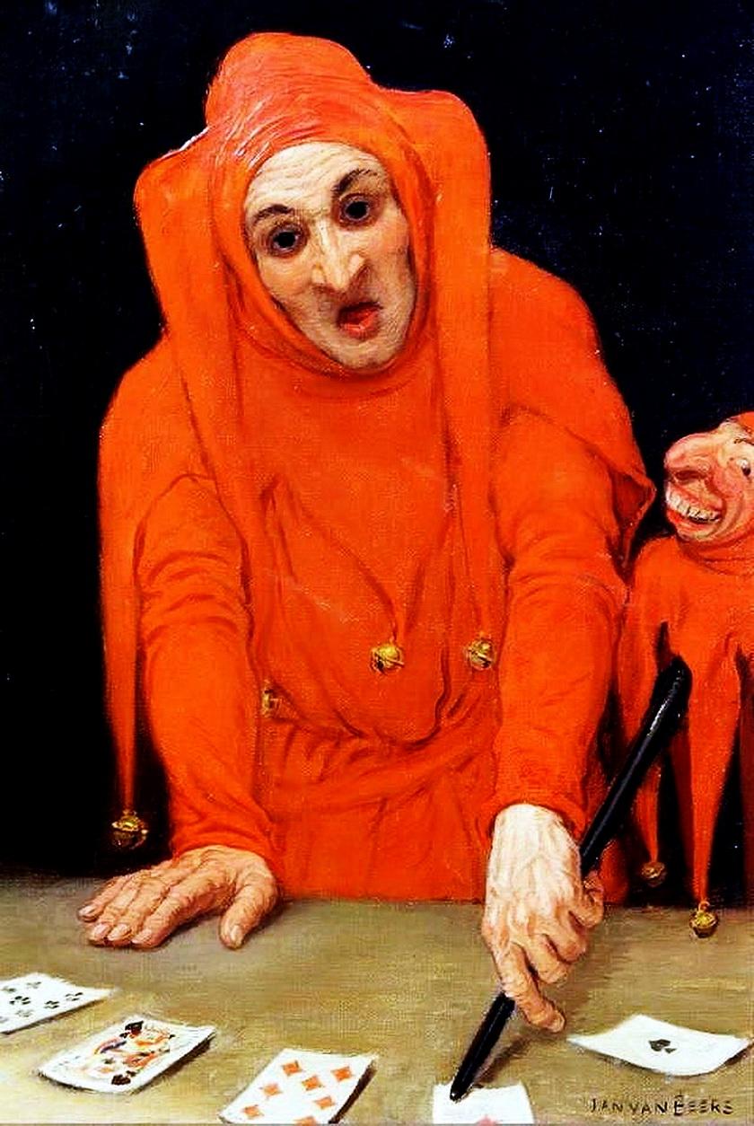 Jan van Beers (1852-1927) - The Red Jester