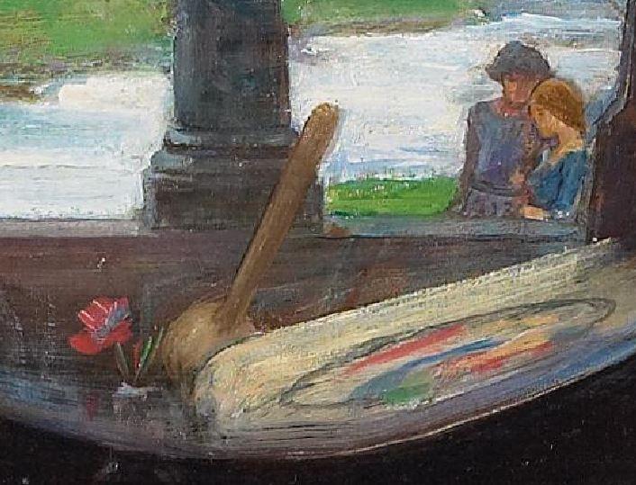 John William Waterhouse I am half-sick of shadows said the Lady of Shalott  (1915) fleur