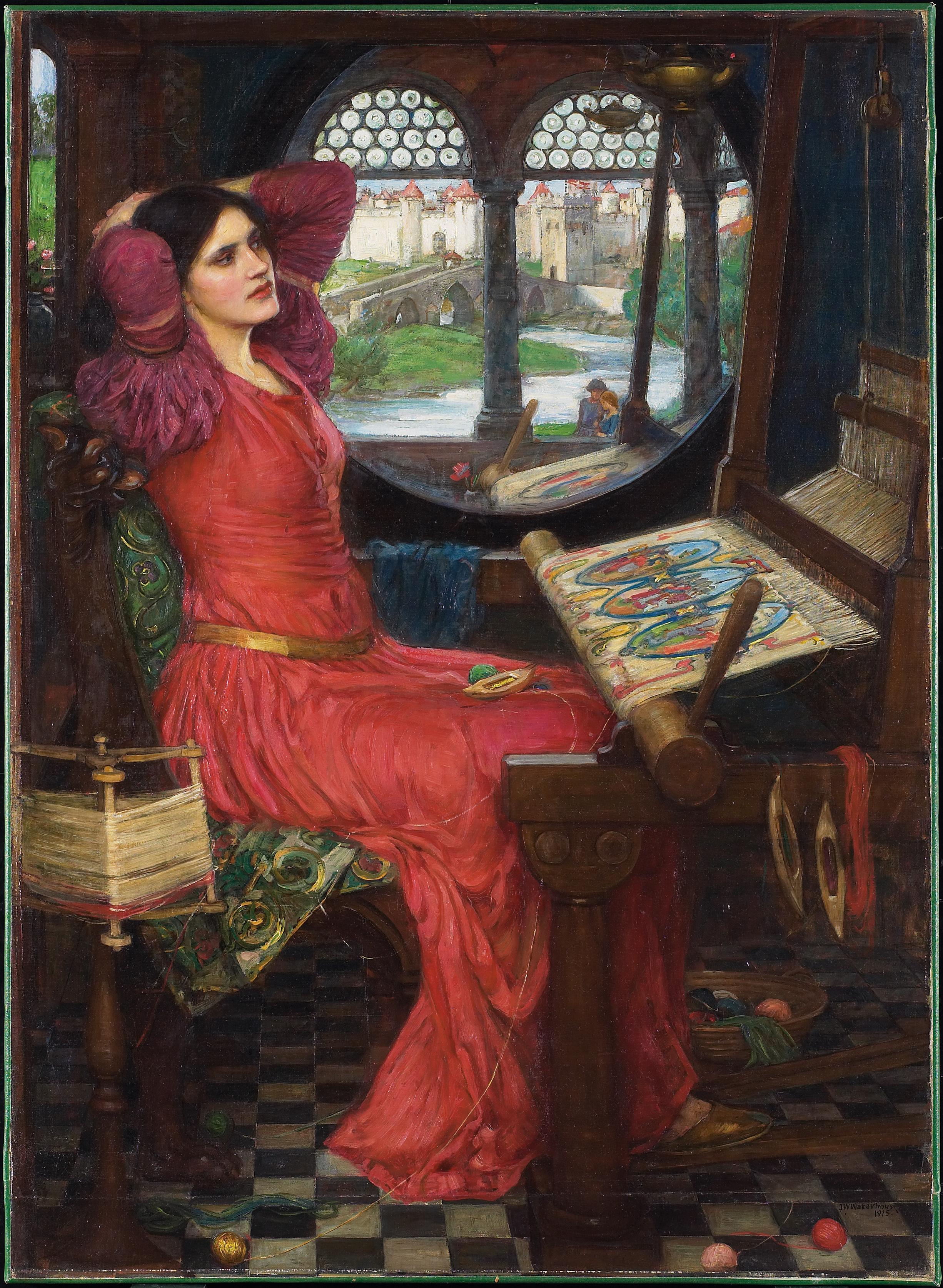 John William Waterhouse I am half-sick of shadows said the Lady of Shalott  (1915)