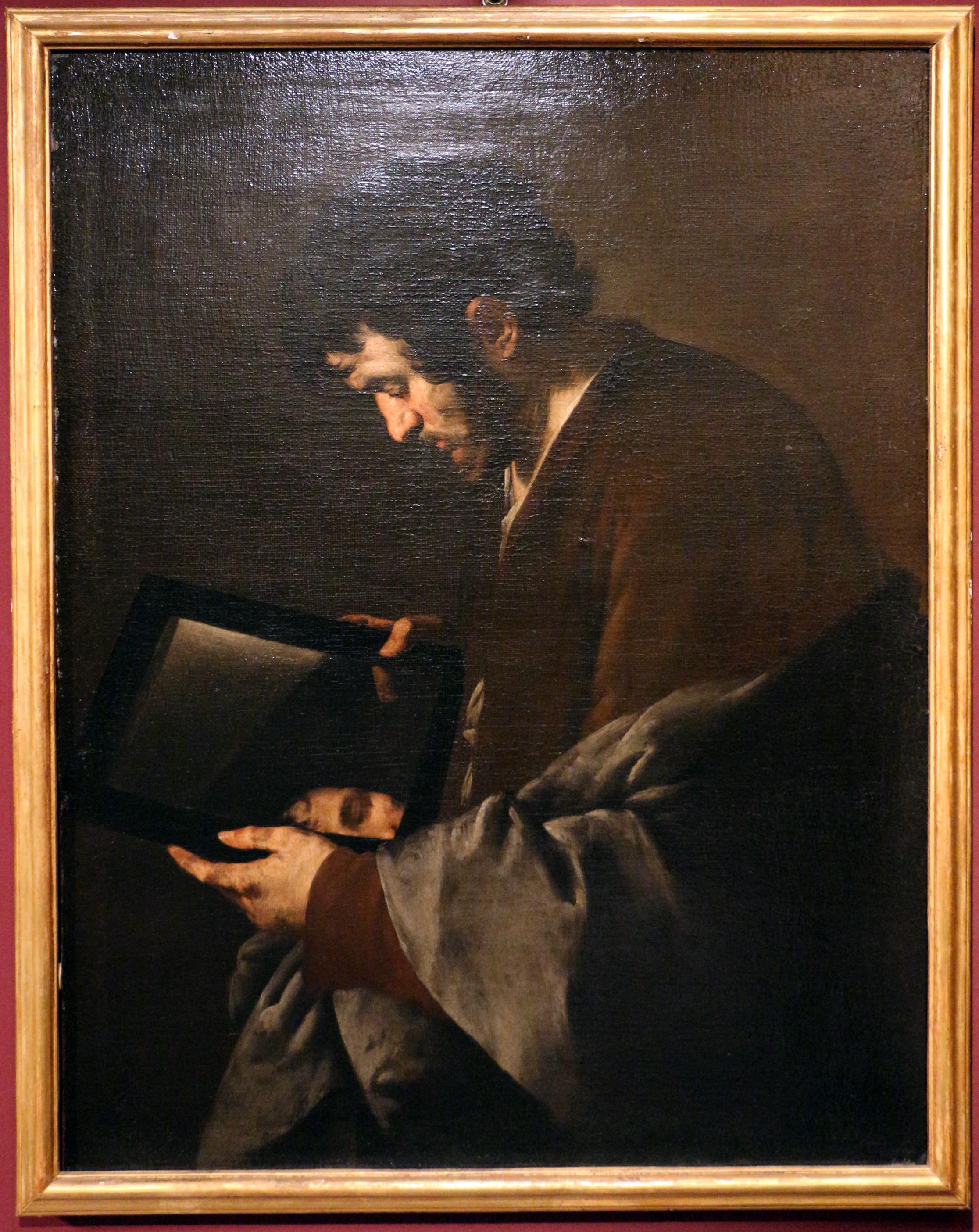 Juan_do, 1630 ca, uomo_allo_specchio,_forse_allegoria_della_vista_(coll._giuseppe_de_vito)_01
