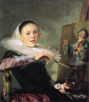 Judith Leyster vers 1630 National Gallery of Art Whashington