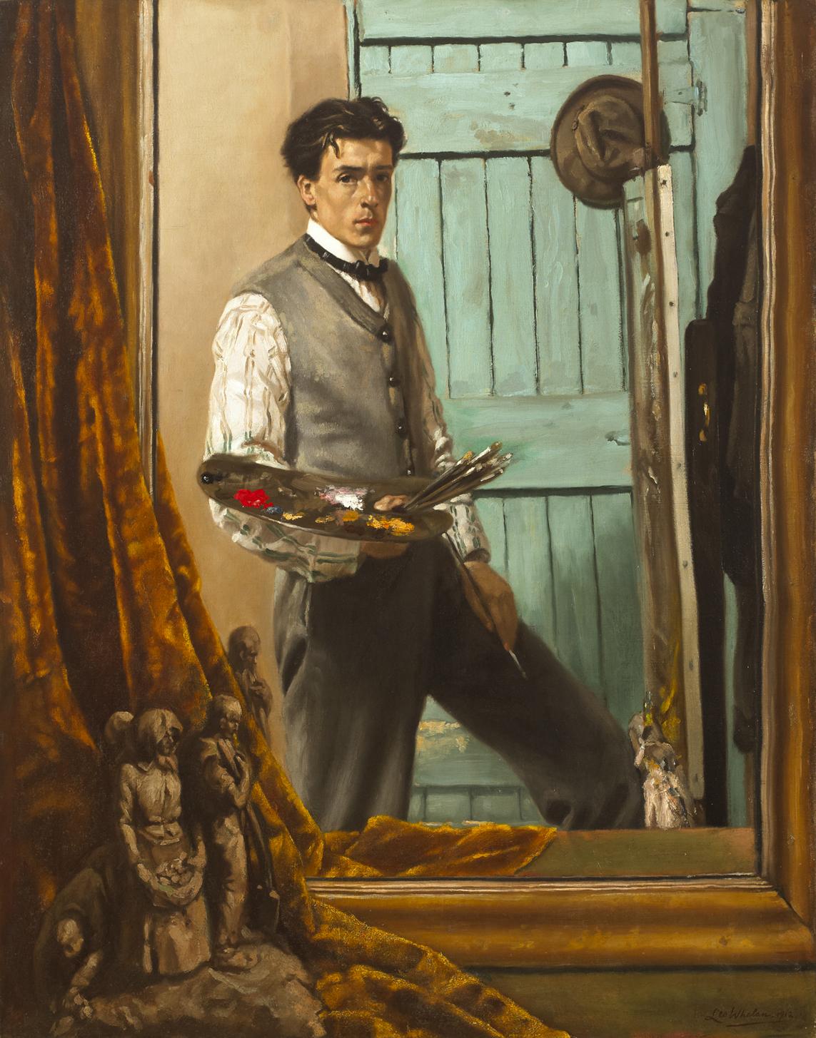 Leo Whelan THE MIRROR 1912 collection privee