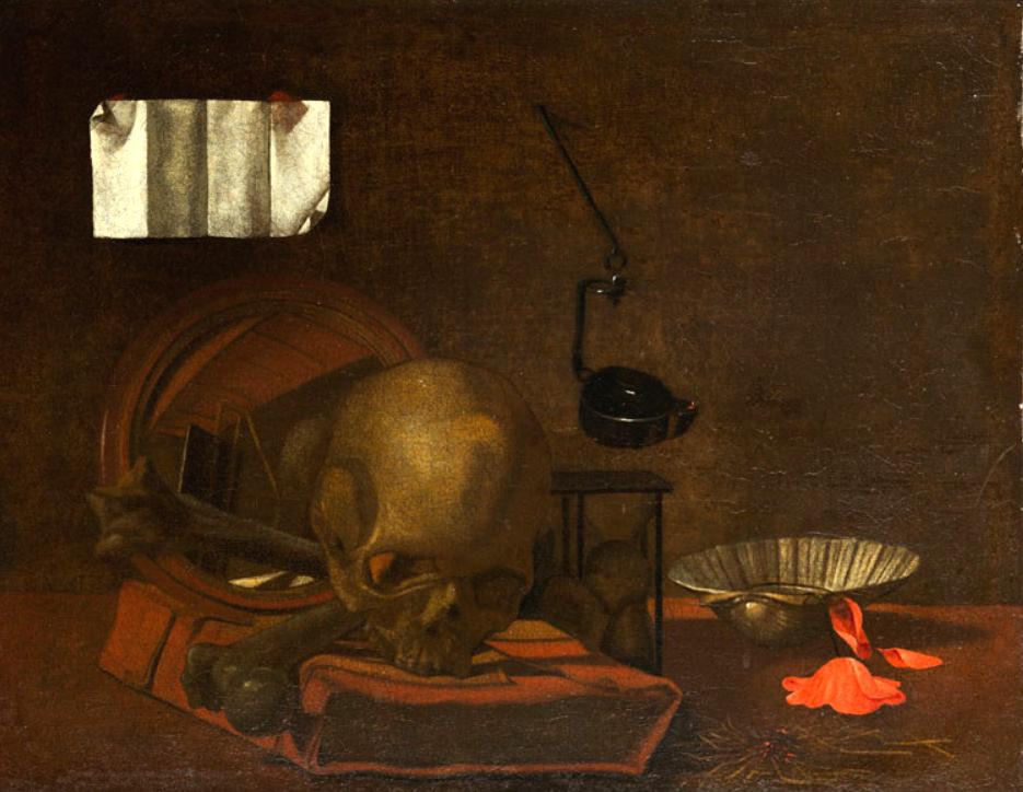 Maitre napolitain, XVIIeme, copie de Simon Luttichuys