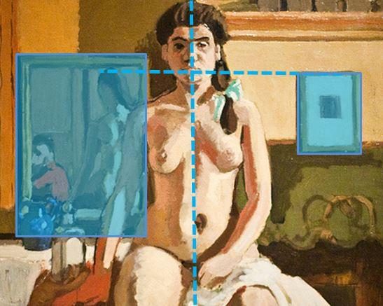 Matisse Carmelina 1903 equilibre