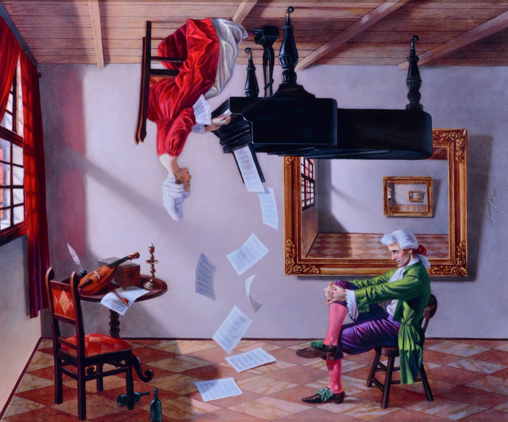 Michael Cheval Discord of Analogy 2015,